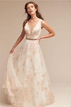 BHLDN Lily Gown in  Bride Wedding Dresses | BHLDN $2400