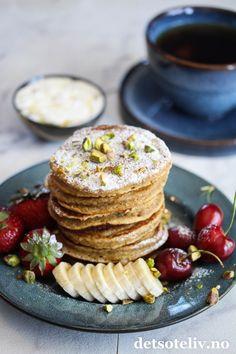 Bananlapper med havremel | Det søte liv Breakfast, Food, Morning Coffee, Essen, Meals, Yemek, Eten
