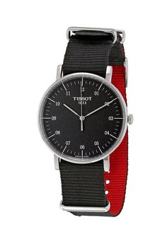 Tissot T-Classic Everytime Black Dial Mens Watch T1094101707700