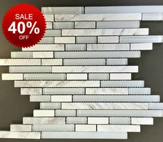 art studio rain random strip stone and glass blend on sale 898 sqft
