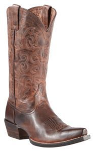 Ariat® Alabama™ Women's Sassy Brown Snip Toe Western Boots  Price: $199.99