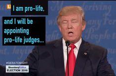 Trump pro vida