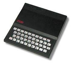 Sinclair - the first cheap, mass-marketed home computer. Alter Computer, Home Computer, Computer Technology, Apple Ii, Digital History, Computer Gadgets, 8 Bits, Kids Electronics, Old Computers