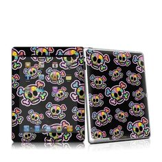 Peace Skulls Design Protective Decal Skin Sticker for Apple iPad 2nd Gen Tablet E-Reader by MyGift. $19.99. Protect your for Apple iPad 2nd Generation Tablet E-Book Reader with this art quality design decal sticker. These scratch resistant skin sticker helps to protect your Apple iPad 2nd Generation Black or White Tablet while making an impression. Self-adhesive plastic-coated skin stickert wrap the sides of the unit while including a matching skin for the remo...