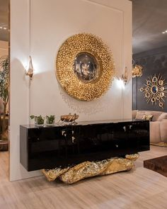 A bit classic, a bit modern, fully authentic – that's how we define the modern classic sideboard designs we are about to share with you. Luxury Interior Design, Luxury Home Decor, Interior Exterior, Interior Design Inspiration, Luxury Homes, Design Ideas, Art Furniture, Luxury Furniture, Furniture Design