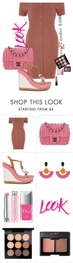 """""""Simple morning"""" by claire86-c on Polyvore featuring moda, River Island, Chanel, Sophia Webster, John Lewis, Christian Dior, NYX, MAC Cosmetics, Charlotte Russe e Bobbi Brown Cosmetics"""