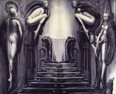 Hans Rüdi Giger: Passage Temple (The Way of the Magician)