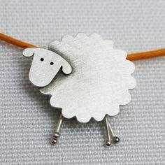 Sheep pendant.