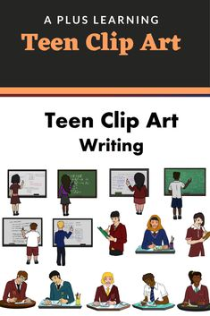 Make your writing resources come to life with our Teen Writing Clip art.Excellent to have for high school resources especially those who create resources and a must have for classroom displays. Writing Resources, School Resources, Classroom Resources, Teacher Resources, Classroom Displays, Classroom Organization, Classroom Management, Teaching Posts, All Schools