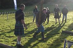 Try your arm on this strength games. This Highland Games takes with throwing and lifting feats accompanied by the sound of bagpipes. Competing in against your mates during schooldays? This events takes on every game competition like throwing a metal ball which we call it a shotput when you were younger.  http://www.henit.ie/day-activity/highland-games/
