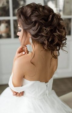 Featured Hairstyle: Elstile; www.elstile.com/; Wedding hairstyle idea.