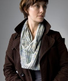 Opul Infinity Scarf: The Opul Infinity Scarf is an easy soft loop, suitable for almost any type of yarn.