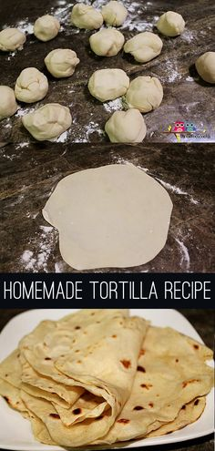 Homemade Tortillas for Taco Tuesdays