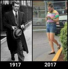 Elegancia de antes VS elegancia de hoy #humor #memes #funny #divertido