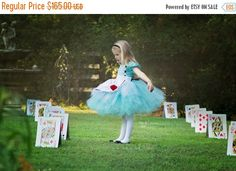 ON SALE Alice Dress...Wonderland Inspired by HippityHootNotion