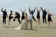 Fun wedding photo idea