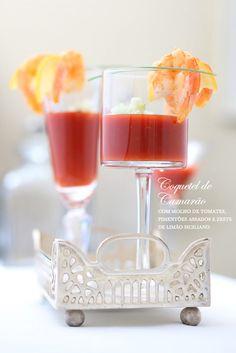 Casamento buffet - coquetel de camarão (Buffet: Zest | Foto: Rogerio Voltan)