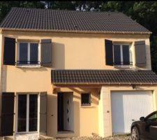 Enduirama Le Nuancier D Enduits En Photos De Crepis En 2020 Crepi Maison Maison Construction