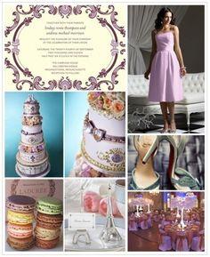 paris theme wedding ideas