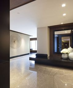 Robarts Interiors and Architecture - Private Residence Entryway House Design, House, Interior Decorating, Interior, Home, Interior Architecture, House Interior, Modern Interior, Residential Interior