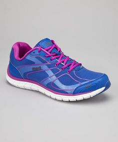 Take a look at this Blue Capture Sneaker - Women by Ryka on #zulily today! $18 !!