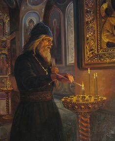 Before church service. Painting by Russian artist Andrey Shishkin Russian Painting, Russian Art, Russian Folk, Modern Artists, Great Artists, Religion, Exotic Art, Russian Orthodox, Orthodox Christianity