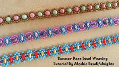 "Beading News - ""Summer Daze"" video tutorial"