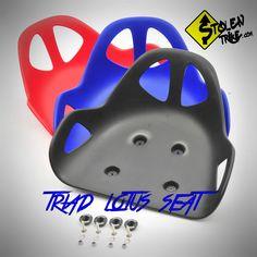 Drift Trike Seat - Lotus - Black - Red - Blue - www.stolentrike.com