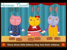 Nursery Rhymes   Three Little Kittens