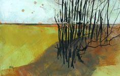 Marshland trees   by Paul Steven Bailey
