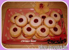 Citromos linzer Desserts, Food, Tailgate Desserts, Deserts, Essen, Postres, Meals, Dessert, Yemek