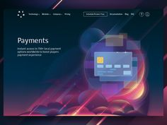Illustration for corporate website (Payments)