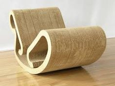 Image result for frank gehry cardboard chair