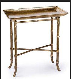 Regina Andrew Bamboo Side Table