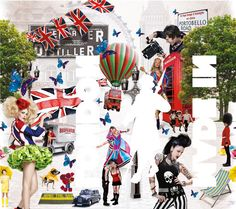 Beefeater Gin: Inside London - The Dieline - The #1 Package Design Website -