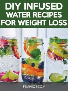 Infused-Water-Recipes-For-Weight-Loss