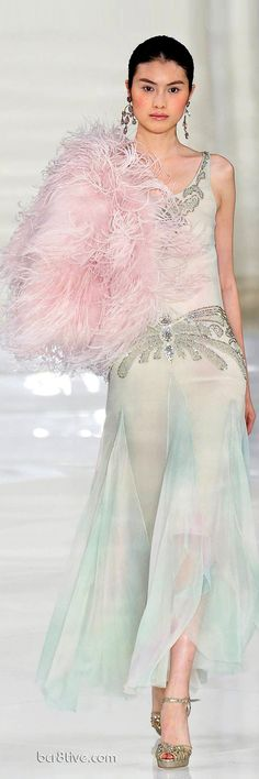 Commemorating a Classic  Timeless Collection – Ralph Lauren Spring Summer 2012 Haute Couture