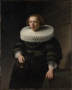 Rembrandt (Rembrandt van Rijn) | Portrait of a Woman, probably a Member of the Van Beresteyn Family | The Metropolitan Museum of Art