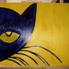 Pete the Cat! Art by James Dean, New Orleans