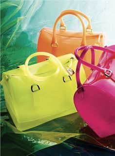 See Thru Tote: Furla 'Candy Bag'