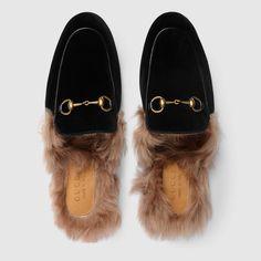 37d6c5996da Gucci Princetown velvet slipper. Mens Moccasins LoafersGucci ...