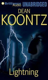 Dean Koontz Lightening  time travel and stuff...and of course, there's a dog.  This is the first Koontz book I read which caused me to go back read all the previous ones and also read every one written since.
