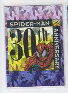 SPIDERMAN 30TH ANNIVERSARY PRISM FOIL CARD P11