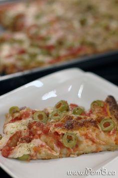 Pizza Estilo Siciliana (Grossa)