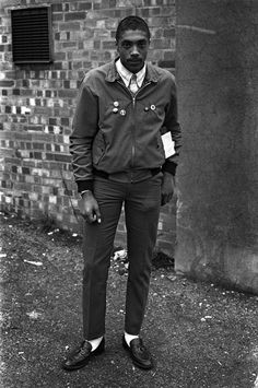 Rude boy in Chelsea, London. (April, 1980 Derek Ridgers)