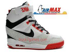 the best attitude 1a59e a5c8e Nike Air Revolution Sky Hi GS 599410-100 Chaussures Montante Nike Pas Cher  Pour Femme