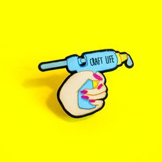 a pin for people livin that craft life.