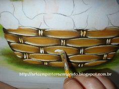 pintura em tecido eliana rolim - Pesquisa Google