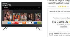 "Smart TV LED 49"" Samsung UN49K5300 Full HD Wi-Fi 2 HDMI 1 USB com Tizen Gamefly << R$ 209900 em 15 vezes >>"