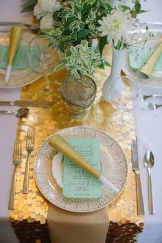Lemon & Lime Event Design » Blog Archive : 2013 wedding trend: mint
